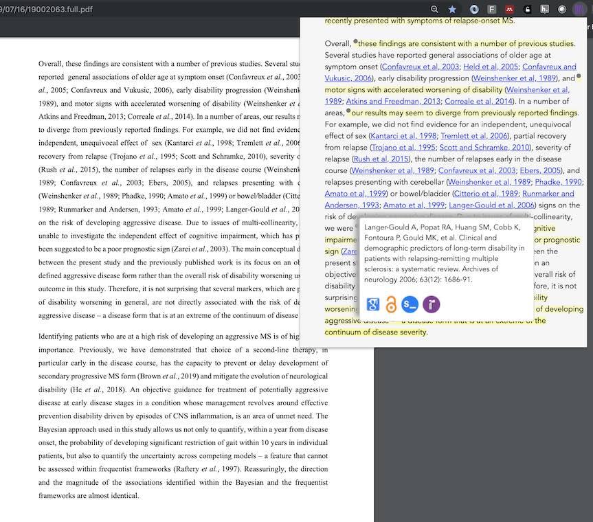 Citations in Scholarcy